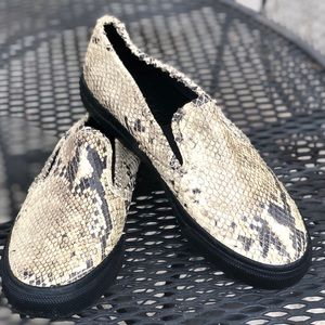 GUC Snake Sperry Top-Sider For Jeffrey Slip Ons